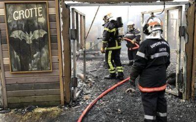Пожар во французском зоопарке…