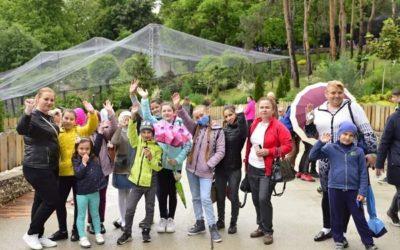 Муниципалитет организовал посещение зоопарка для 900 детей